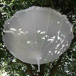 White Wedding Parasol - New!!