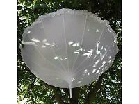 White Wedding Parasol - New!!