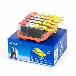 Canon PGI-220 & CLI-221 New Compatible Ink Cartridge Combo Set With Chip