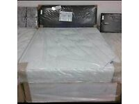 💛💛FAST DELIVERY💛💛NEW DOUBLE DIVAN BED BASE INCLUDING MATTRESS (Headboard Optional)