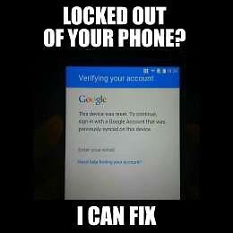 FRP Google Account Lock Removal for Samsung