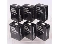 Cards Against Humanity Expansions 1-6. Package includes expansion packages: 1; 2; 3; 4; 5; 6.