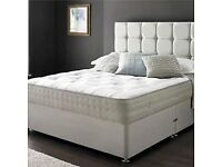 UK MANUFACTURED DIVAN BEDS ON SALE HALF PRICE FREE DELIVERY!!!