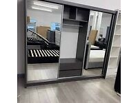 ⏺Beautiful Mirrored Wardrobes with Sliding Doors. Multiple sizes available ⏺