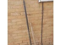 pick axe and steel pole for digging