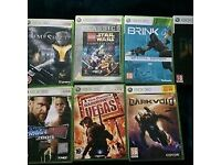 Xbox360 games - list in picture. £10 per game