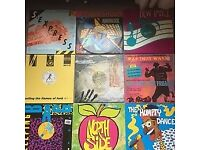 Vintage Hip hop early 1980s-1990s vinyl