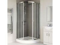 Soak Quadrant's Shower enclosure