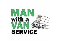 MAN WITH VAN REMOVAL VAN SERVICE / COLLECTIONS/DELIVERIES