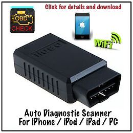 iPhone / Android WiFi OBD2 diagnostic clear check engine