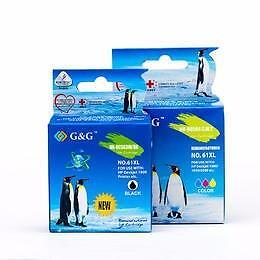 HP 61XL Compatible Ink Cartridge High Yield Combo Set