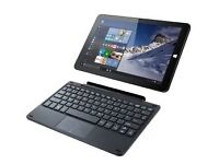 Linx 1010 tablet and keyboard