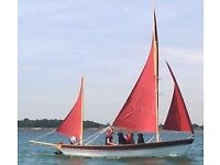 Drascombe Lugger 18' Day Sailer: good condition with full inventory