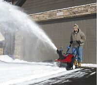 Snow Clearing Maintenance Personnel Required