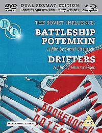 The-Soviet-Influence-Battleship-Potemkin-Drifters-DVD-amp-Blu-ray-1929-DVD