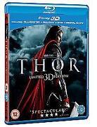 Thor 3D Blu Ray