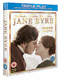 Blu-Ray-JANE-EYRE-Michael-Fassbender-Triple-play-edition-Brand-new-sealed