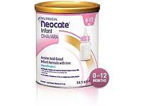 Neocate milk brand new