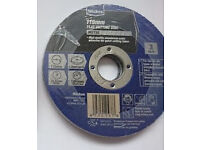Cutting discs for Metal (115mm). Brand new. Fits most 115mm Angle Grinders