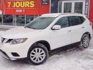 2014 Nissan Rogue S / VEHICULE CERTIFIÉ / CVT / AIR / CRUISE