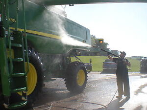 Power Washer Cleaning for Agricultural Equipment