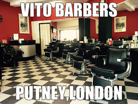 URGENT JOB – EXPIERENCED BARBERS NEEDED IN PUTNEY AND BARNES 5 DAYS A WEEK GOOD EARNINGS + TIPS
