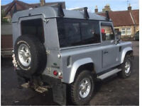 Landrover defender re listed due to time wasters
