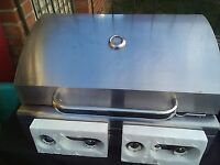 Early bird deal: 2 New' Jumbuck' 4 burners gas stainless steel BBQ £190 and £150