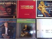 "RARE CLASSICAL COLLECTION. ORIG. RELEASES FROM 1950's - 1970's BOX SETS. LP's & 10"" singles"