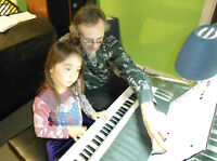 Cours de GUITARE, CHANT, BATTERIE, BASSE, VIOLON OU PIANO