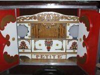 Petite Street Organ with 1KW Generator