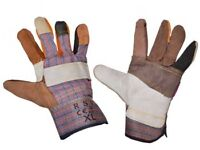 PPE Work Heavy Duty Gloves, Coated or Leather or Nitrile. Wholesale , Bulk, Job Lot Brite Direct Ltd