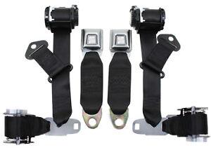 1974-77-Replacement-Corvette-Seat-Belt-Replacement-Corvette-Seat-Belts-Black