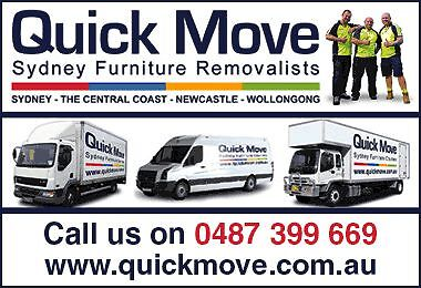 1800 QUICK MOVE - Sydney Furniture Removalists Sydney Region Preview