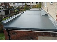 All flat roofs an asbestos roofs