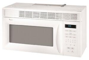 Kenmore hood microwave