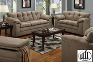 Brand NEW  Luna Mineral Sofa! Call 306-347-3311!