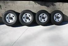 Toyota Land Cruiser 100 Series Steel Wheels & Tyres Lithgow Lithgow Area Preview
