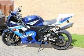 Suzuki GSXR 600 K5 Motorbike