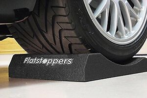 Car storage Flatstoppers race ramps.