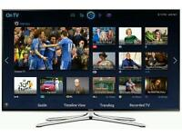 "Samsung 48"" LED smart 3d wi-fi TV builtin freeview fullhd 1080p comes with warranty"