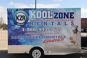 Portable Refrigeration Cooler & Freezer Trailer Rentals