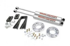 "Rough Country Suspension Lift Kit 2"" 2009-2013 Ford F150 With Rear Shock F-150"