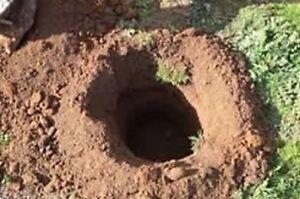 Post/pile holes