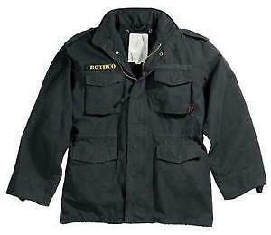1e5ca1fb89380 Black M-65 Field Jacket
