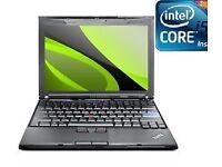 Lenovo x201 12 inch Core i5 2.4GHz 8GB RAM, 250G HD, WIN 7 webcam