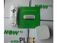 NOW TV BOX WITH PLEX INSTALLED