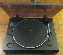 Vinyl record player Sony 2 speed Athelstone Campbelltown Area Preview