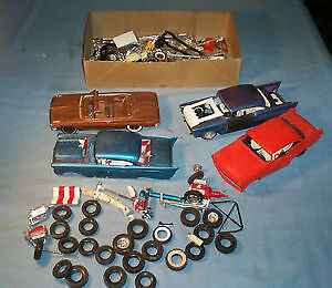old plastic model cars