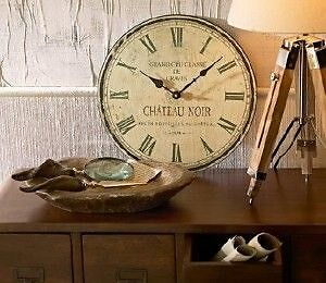 WALL CLOCK CHATEAU NOIR FRENCH REPLICA - MANLY AREA 2093 NSW Fairlight Manly Area Preview